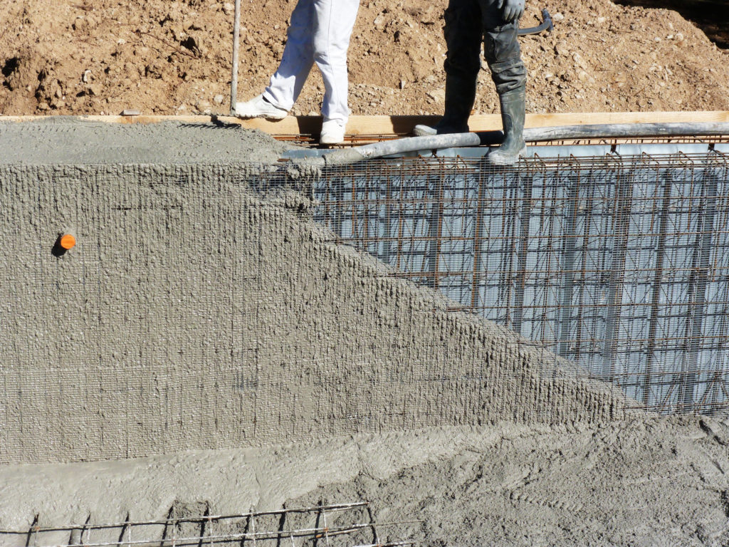 piscine en beton