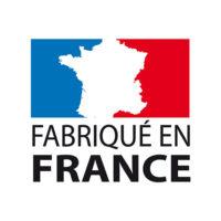 Logo Fabriqué en France pour piscines en béton armé monobloc Leaderpool